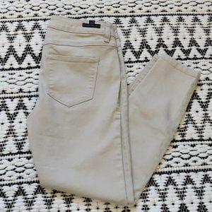 LC Lauren Conrad beige skinny